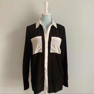 MICHAEL MICHAEL KORS color block blouse